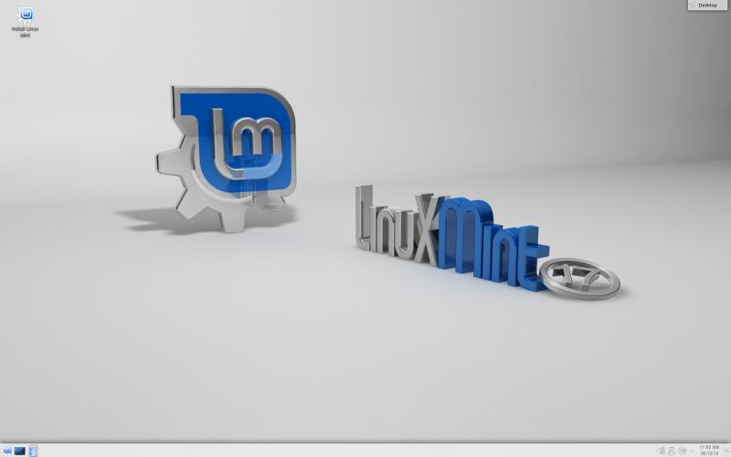 Linux Mint 17 Qiana KDE kiadás