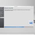 KDE - A telepítő