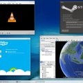 KDE - Steam, Google Earth, Skype és VLC