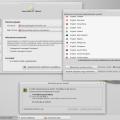 Xfce  - Szoftverforrások, nyelvi beállítások és illesztőprogram-kezelő