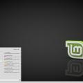 A Linux 18.1 BETA verziójának MATE kiadásának asztala
