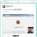 Firefox Hello használata
